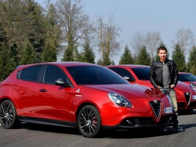 Jorge Lorenzo prueba el 4C y el Giulietta tras fichar por Alfa Romeo