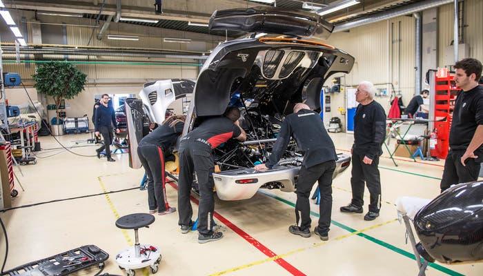 Koenigsegg One producción a falta de 48 horas