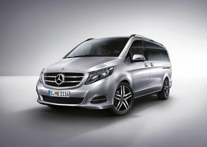 nueva Clase V de Mercedes