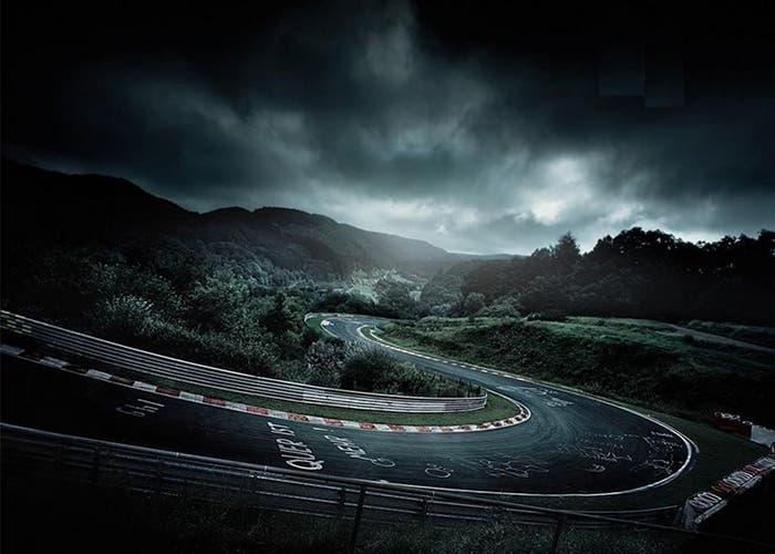 Nurburgring de noche