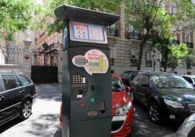Parquímetro solar en Madrid