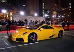 GTA Spano en el estreno de Need for Speed