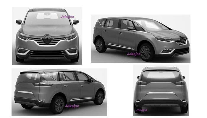 Nuevo Renault Espace filtrado