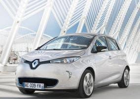 Vista delantera del Renault Zoe