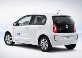 Trasera del Volkswagen e-Up