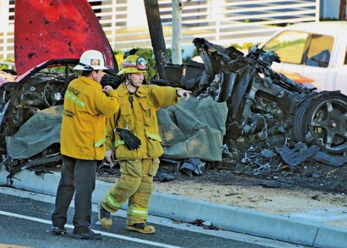 Accidente de Paul Walker y Roger Rodas