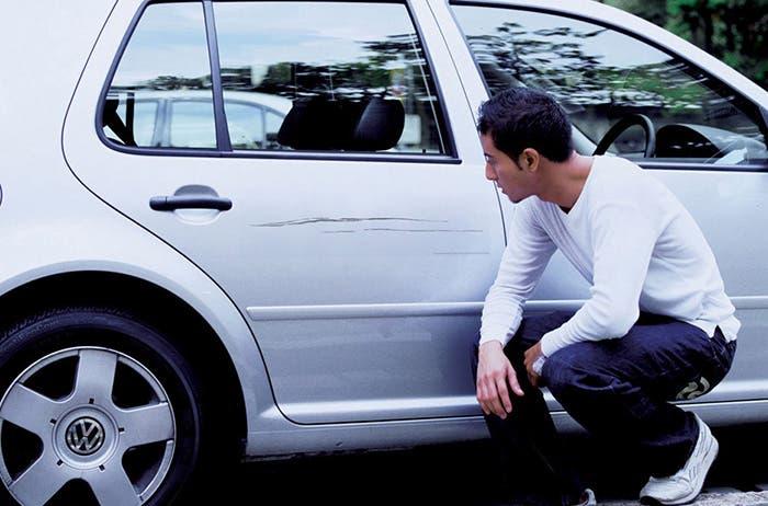 Daños externos del vehículo