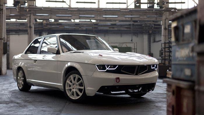 Frontal del BMW Serie 3 E30