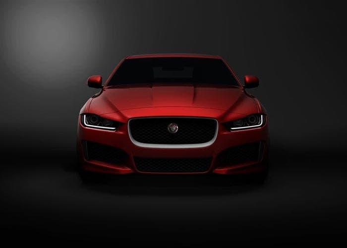 Imagen del frontal del Jaguar XE