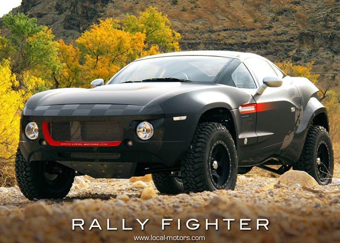 Todo terreno Local Motors Rally Fighter