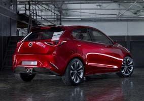 Trasera del Mazda Hazumi
