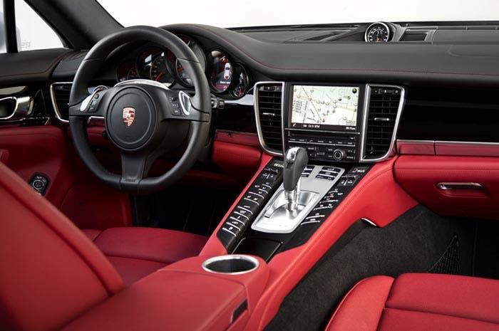 Interior del Porsche Panamera