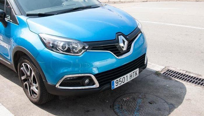 Vista frontal del nuevo Renault Captur