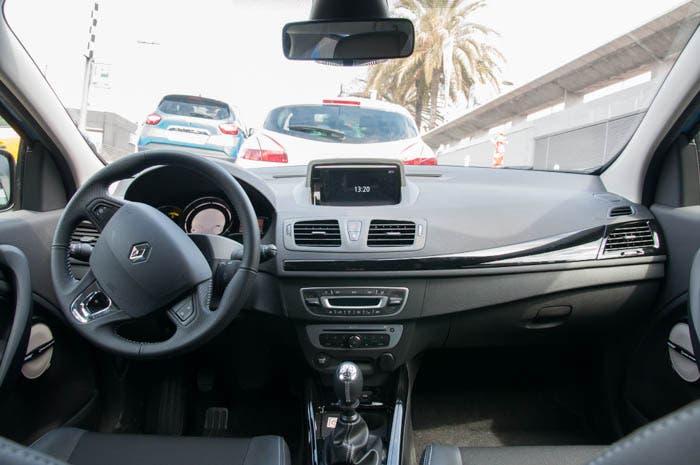 Interior del Renault Mégane 2014