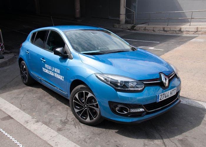 Vista frontal del Renault Mégane 2014