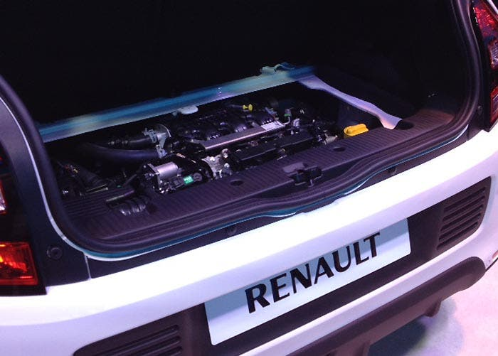 Imagen del motor del Renault Twingo