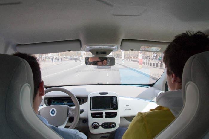 A bordo del Renault ZOE