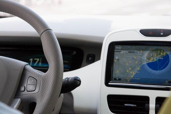 Salpicadero del Renault ZOE