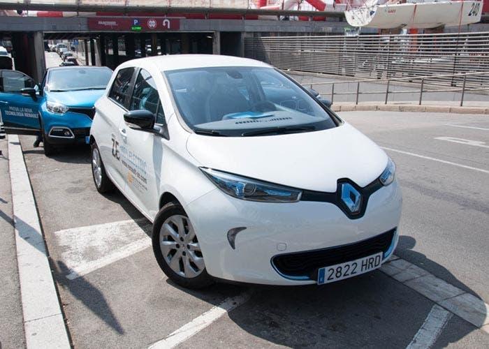 Frontal del Renault ZOE