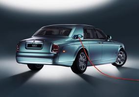 Coche eléctrico de Rolls Royce