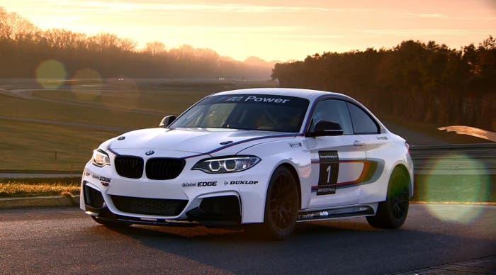 BMW 235i track