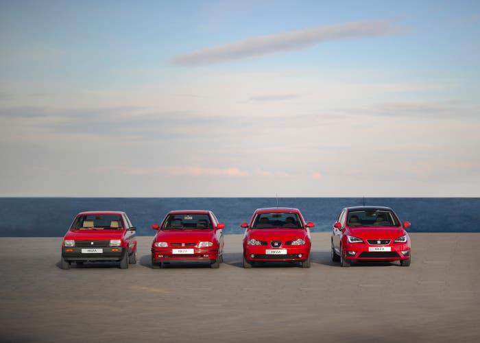El SEAT Ibiza cumple 30 años