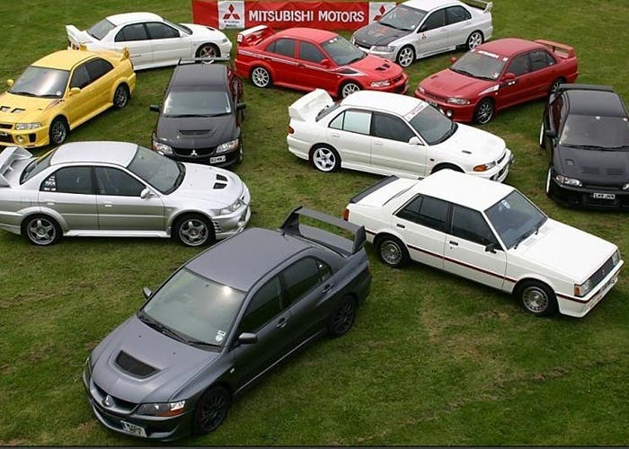 Coleccion de Mitsubishi Lancer Evolution