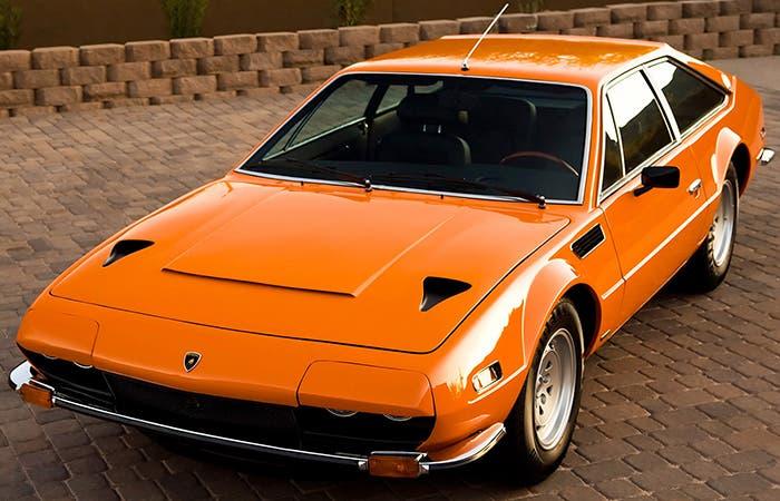 Lamborghini Jarama naranja