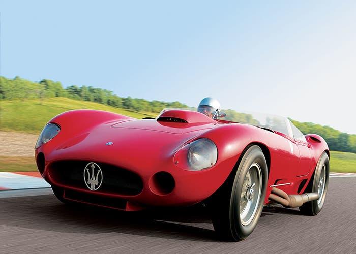 Maserati 450S rojo