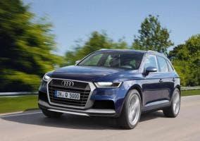 Frontal del nuevo Audi Q5