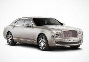 Frontal del Bentley Hybrid Concept