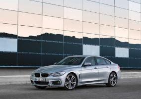 Vista frontal del BMW Serie 4 Gran Coupé