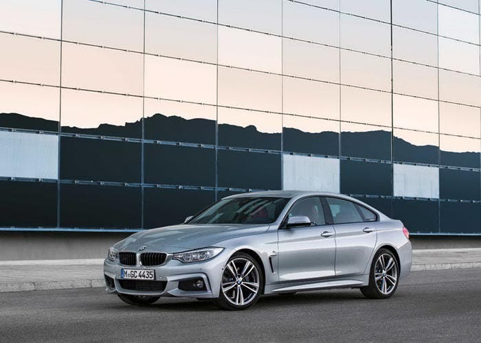 Vista frontal del BMW Serie 4 Gran Coupé
