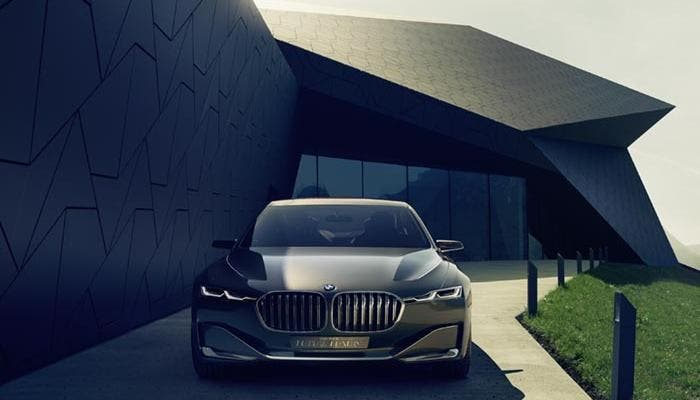 Frontal del BMW Vision Future Luxury