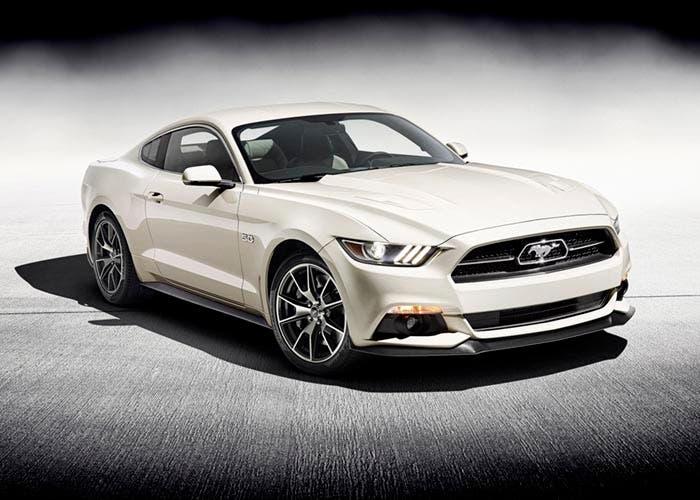 Frontal del Ford Mustang 50 Aniversario