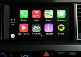 Hyundai Sonata con CarPlay