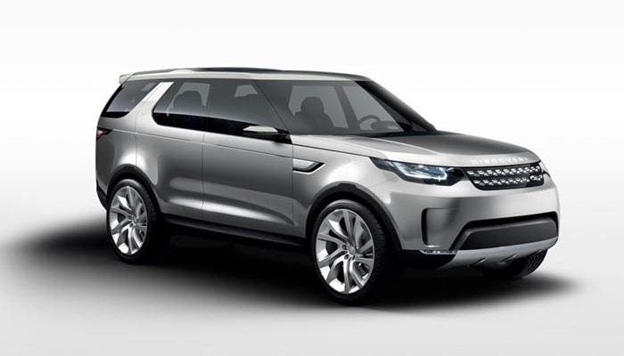 Frontal del Land Rover Discovery Vision Concept