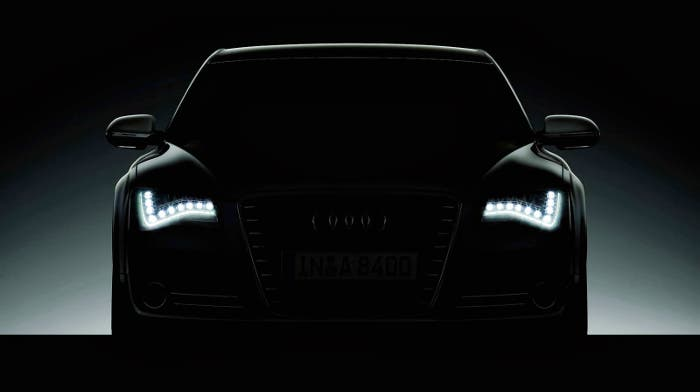 Luces diurnas de Audi A6