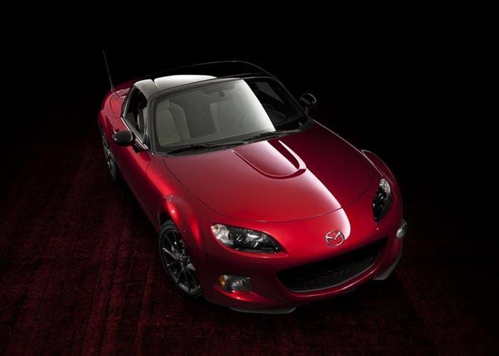 Frontal del Mazda MX-5 Edición 25 aniversario
