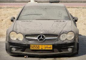 Una pena de Mercedes