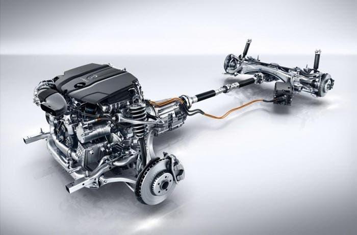 Sistema híbrido del Mercedes Clase C