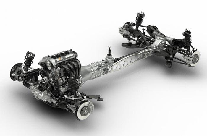 Chasis del nuevo Mazda MX-5