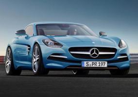 Render del nuevo Mercedes SLK