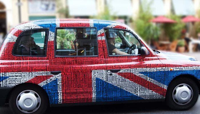 Orgullo inglés reflejado en sus taxis