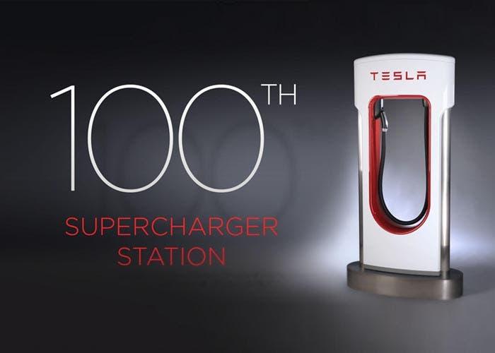 Tesla alcanza las 100 estaciones de carga