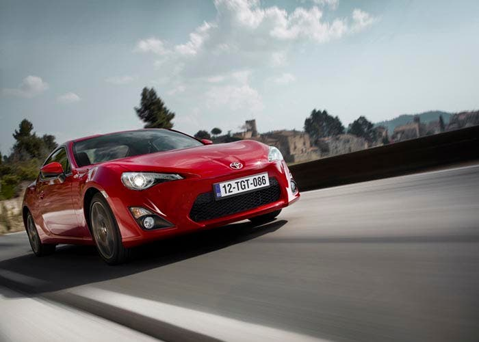 Frontal del Toyota GT86 2015