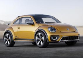 Frontal del Volkswagen Beetle Dune