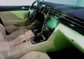 Interior del Volkswagen Magotan