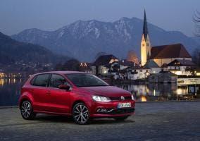 Frontal del nuevo Volkswagen Polo