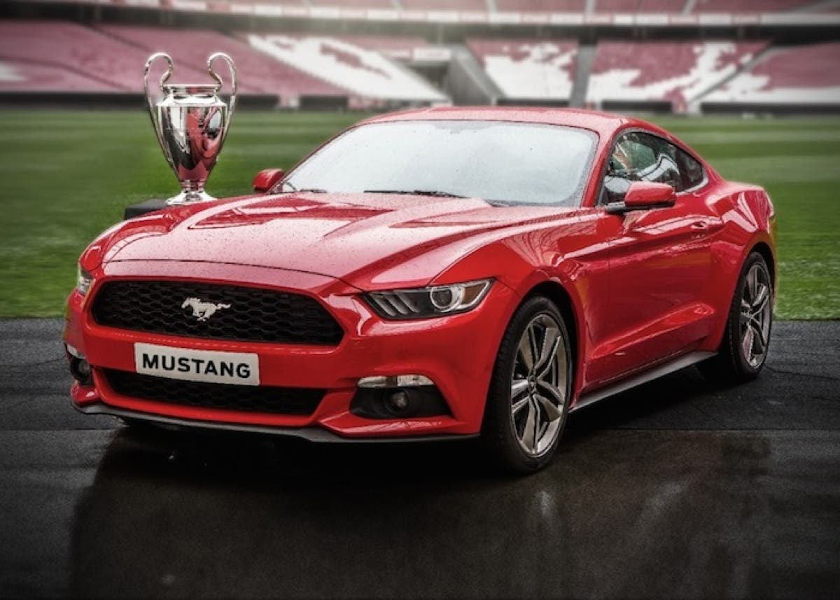 Ford Mustang Champions League